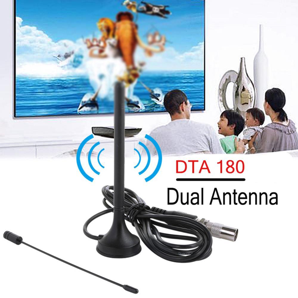 HD Digital Indoor TV Antenna DTA-180 DVB-T Antena Freeview HDTV 30db Aerial Booster Antenne TV Stick Receiver DVBT Surf Antennas
