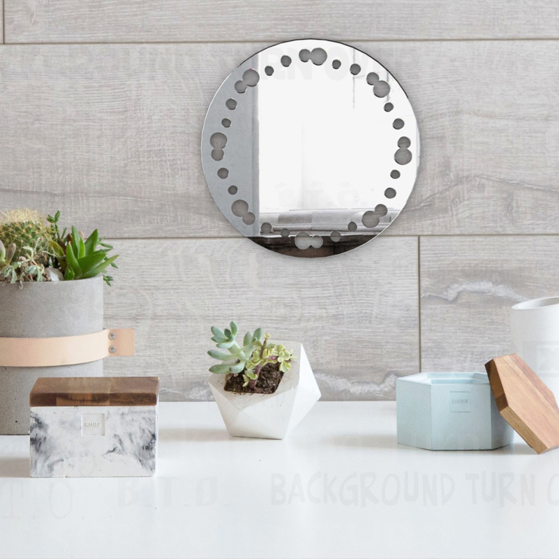 Round Table Bathroom Large Mirrors Small Wall Framed Shaving Acrylic Vintage Antique Mount Mirrored Mirror M008 Decorative Mirrors Aliexpress