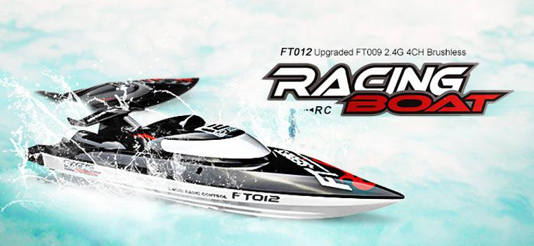 Hobbylane FT012 2.4G Brushless RC Boat Remote Control Boats For Kid Toys