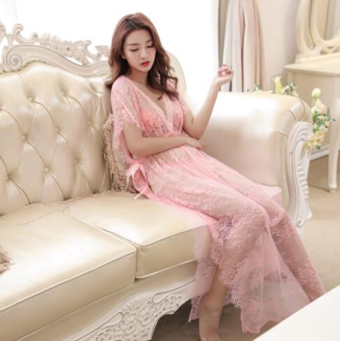 Sexy-Lingerie-Sleepwear-Women/'s-G-string-Dress-Underwear-Babydoll-Nightwear 090W