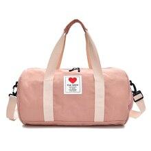 Women Gym Bag Sports Multi-function Men Ladies Training Travel Handbag Fitness Shoulder Crossbody Bags