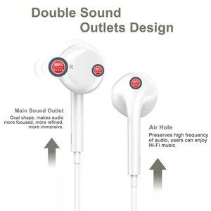 Image 3 - Тип C наушники с микрофоном проводные USB C Цифровые наушники DAC In Ear USB C гарнитуры для Pixel 2 3 XL Samsung Huawei Xiaomi HTC