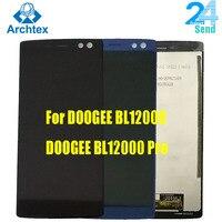 100% LCD Original para DOOGEE BL12000 pantalla LCD y pantalla táctil + herramientas 6 0 ''18: 9 FHD + para Doogee BL12000 Pro pantalla LCD|Pantallas LCD para teléfonos móviles| |  -