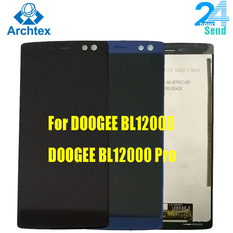 100% Original LCD For DOOGEE BL12000 LCD Display And Touch Screen + Tools  6.0''18:9 FHD+ For Doogee BL12000 Pro LCD Display