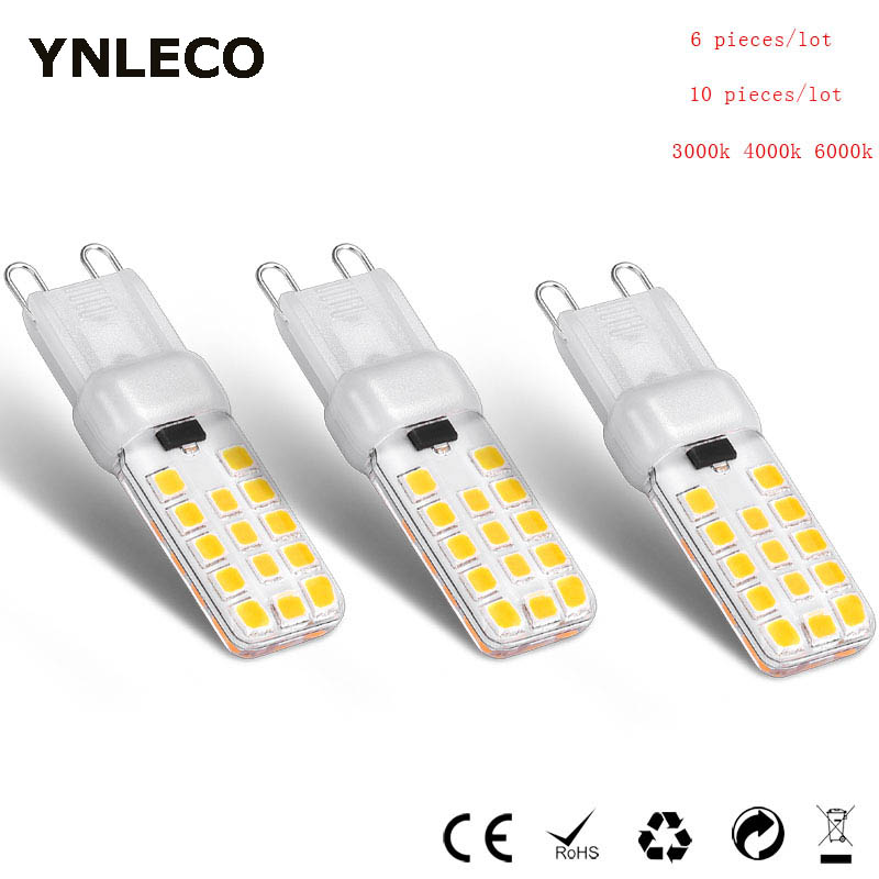 Bombilla LED G9 de 6 uds., 10 Uds., 220V, 110V, lámpara LED de 4W regulable, G9 28LED 2835 SMD blanco 4000K, 360 grados, reemplazo de 35W 40W Módulo transceptor CC1352P SMD IoT, SUB-1GHz, 2,4 GHz, 433MHz, módulo E79-400DM2005S ARM