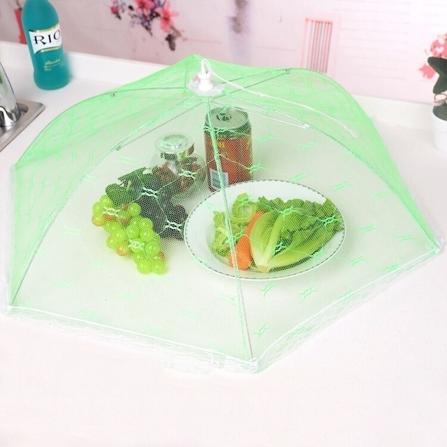 1PC Newest Umbrella Style Food Cover Anti Fly Mosquito Meal Cover Lace Table Home Using Food Cover Kitchen Gadgets Cooking Tools 5