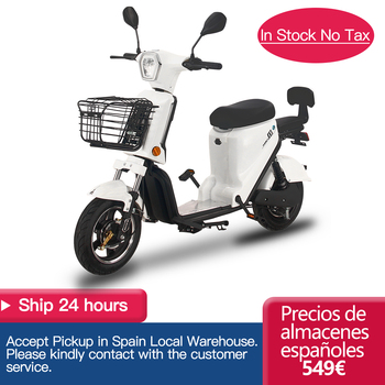 25KM/H Electric Motorcycle 350W 20AH 48V Electric Scooter For Adult Women Men Electric Vehicle Moto  Front Rear Drum 1