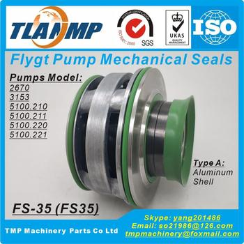 FS-35 , FS35, 35mm Shaft Size Replace of ITT Flygt plug-in Mechanical Seals for Xylem Flygt 2670,3153,5100.210/211/220/221 Pumps