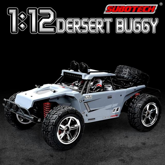 RCtown Subotech BG1513 2.4G 1/12 4WD RTR High Speed RC Off-road Vehicle Car Remote Control Car With LED Light 3