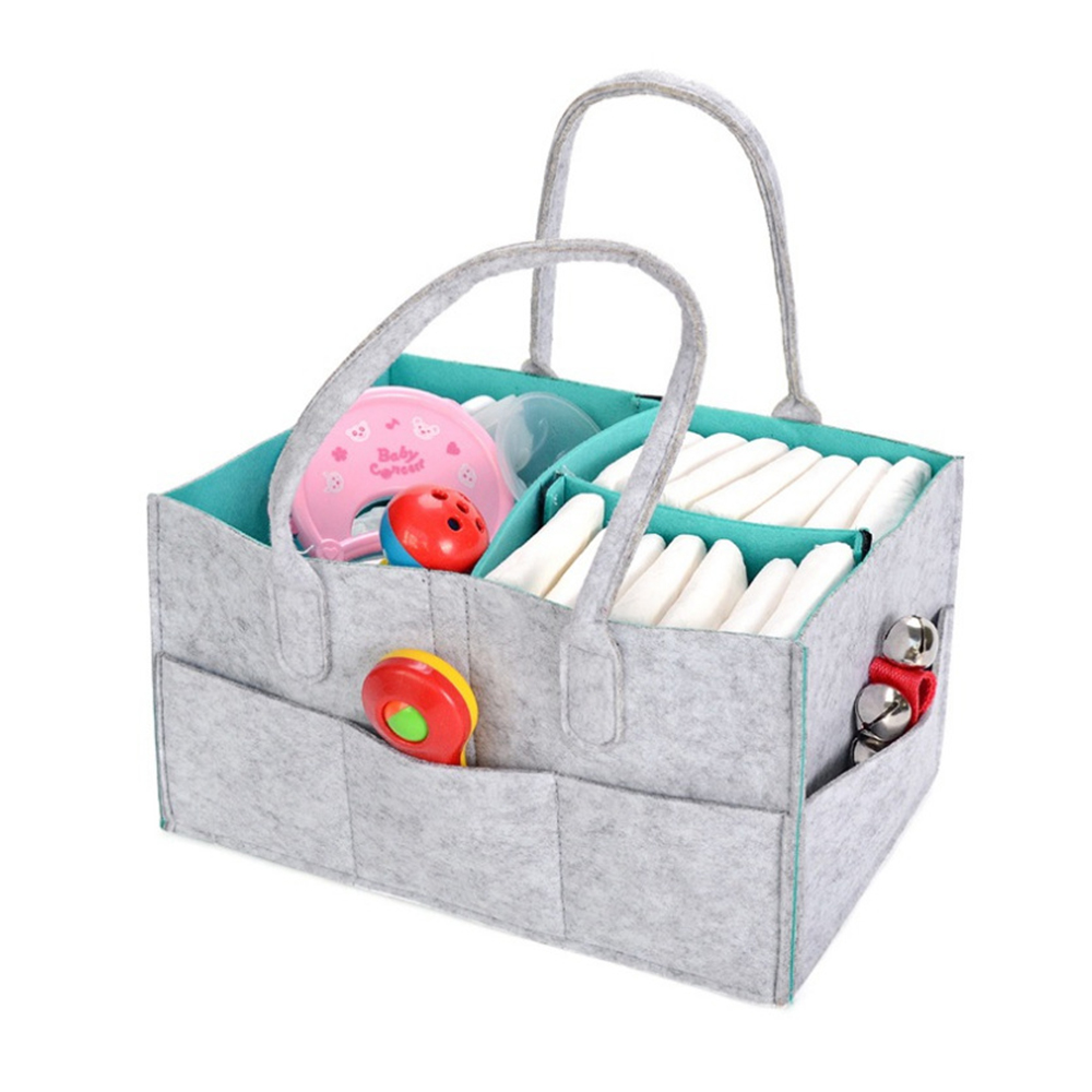 CYSINCOS Maternity Handbag Baby Diaper Bag Newborn Nursery Storage Foldable Nappy Bag Baby Care Organizer Container
