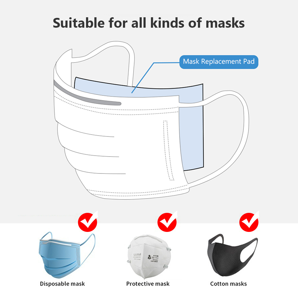 100pcs Universal Face Mask Disposable Face Masks Filtering Respirator Breathable Filter For All Face Party Masks    - AliExpress