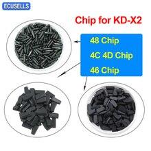 5/10/20/50Pcs KEYDIY KD 4C 4D 46 / 48 עותק Clone Transponder שבב מיוחד עבור KD X2 KD X2 מפתח מתכנת Cloner מרחוק Generater