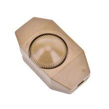 Lâmpada de mesa de assoalho ajustável rotativo escritório em casa fácil instalar interruptor dimmer botão botão manual controlador durável 1a60w