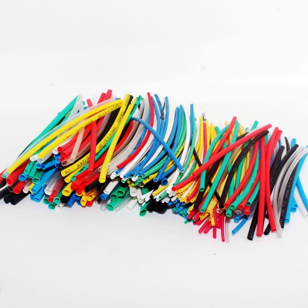 Tubo termorretráctil de Color, envoltura surtido de tubos de aislamiento eléctrico, ¡la mejor promoción! 315 piezas