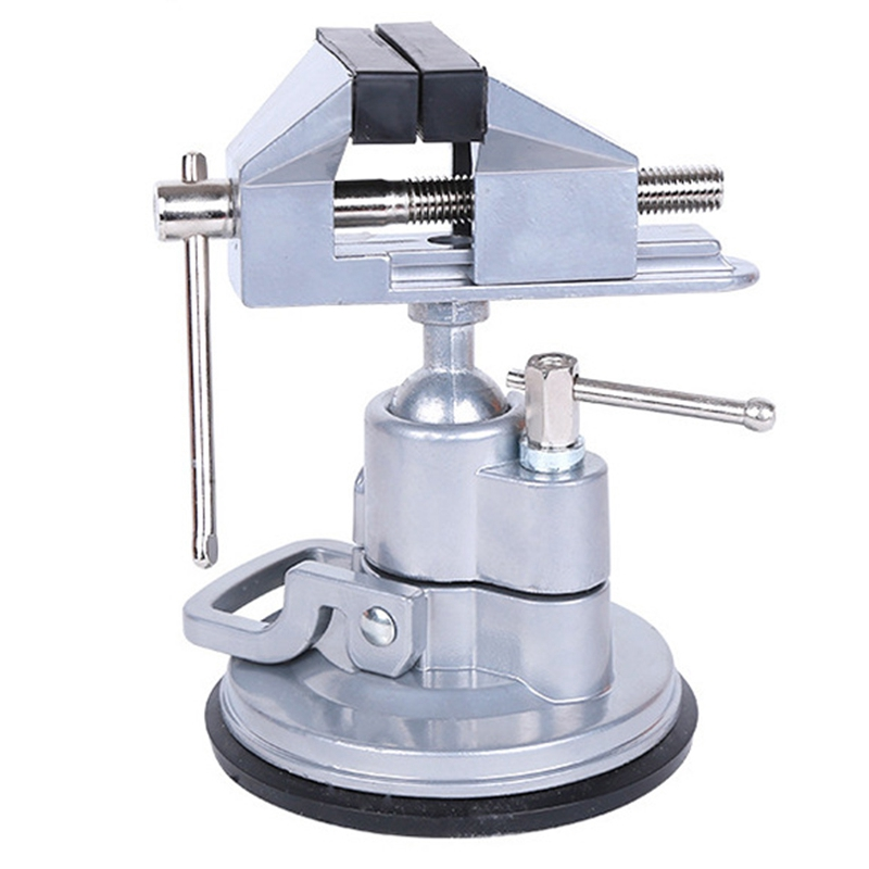 360 Degree Rotation Adjustable Vise Clamp Fixed To The Chuck Frame Rotatable Adjustable Table