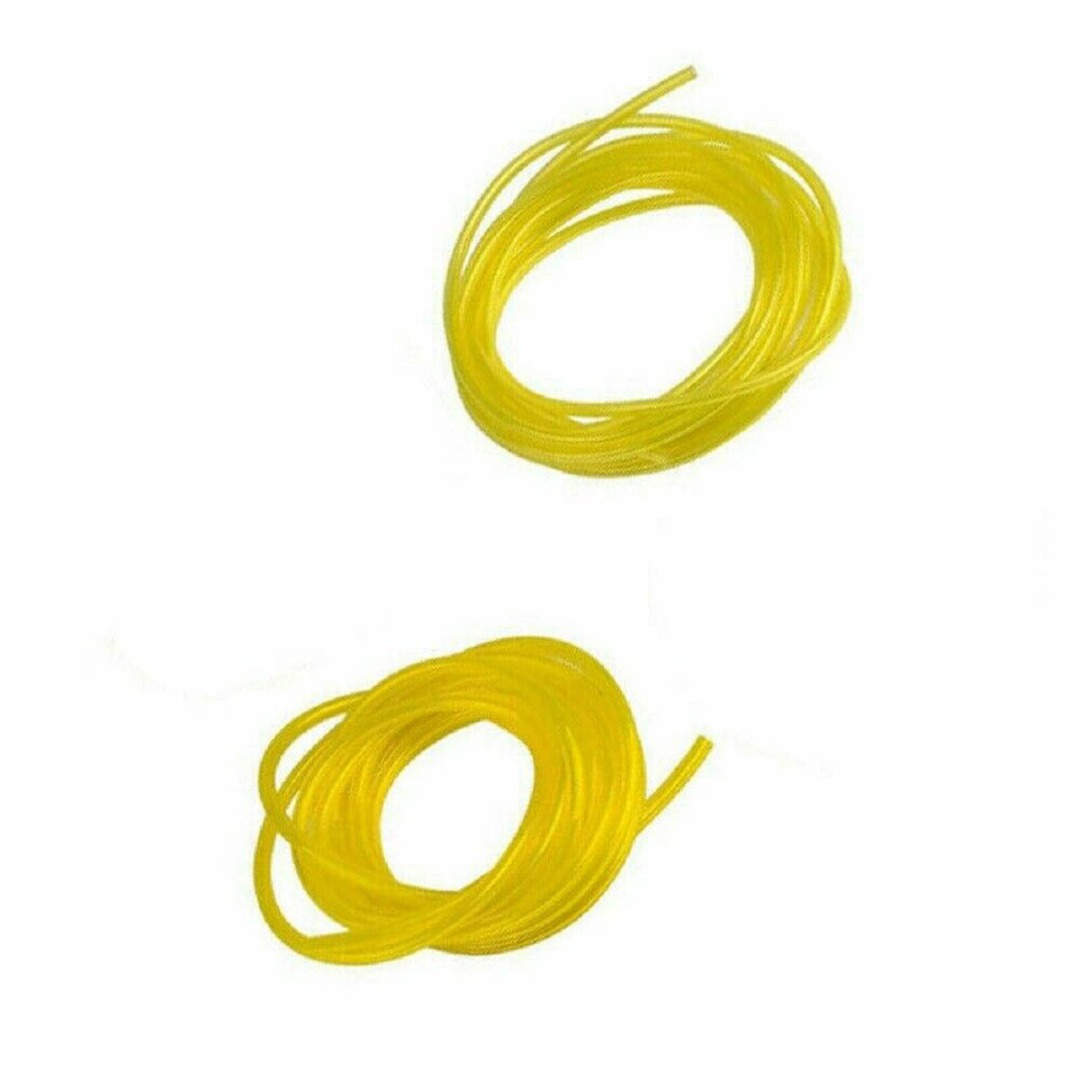 2pcs/set Petrol Fuel Line Hose 2x3.5mm&2.5x5mm For Chainsaws Blowers Weed Trimmers Gas Engine Machines