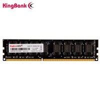 Kingbank DDR3 8GB 4GB memoria 1600Mhz 240pin 1,35 v/1,5 V ram dimm con intel AMD plataforma