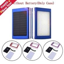 Case Phone-Charger-Flashlight Power-Bank Pover Solar Portable Dual-Usb-Kit 5x18650 Diy-Box