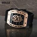 BAOGELA, новинка, мужские часы с черепом, военный силиконовый бренд, пиратские полые часы, мужские светящиеся спортивные наручные часы, Relogio ...