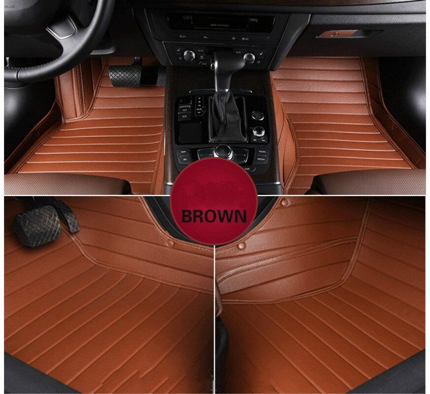 Полностью Покрытые прочные коврики, специальные автомобильные коврики для Volkswagen Beetle Golf Tiguan Sharan Passat CC EOS, большинство моделей, бесплатная дос