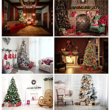 Виниловый фон shuozhike для рождественской фотосъемки на заказ