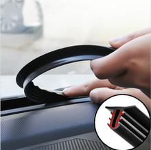 Taśmy uszczelniające deski rozdzielczej samochodu dla Jeep Grand Cherokee dowódca kompasu Wrangler Rubicon Patriot Renegade Liberty tanie tanio Wewnętrzny Inne naklejki 3d 1 6m RUBBER Kreatywne naklejki COZKMFT 160cm 1 5cm Sealing Strip 125g Sound Insulation Car Rubber Sealing Strip