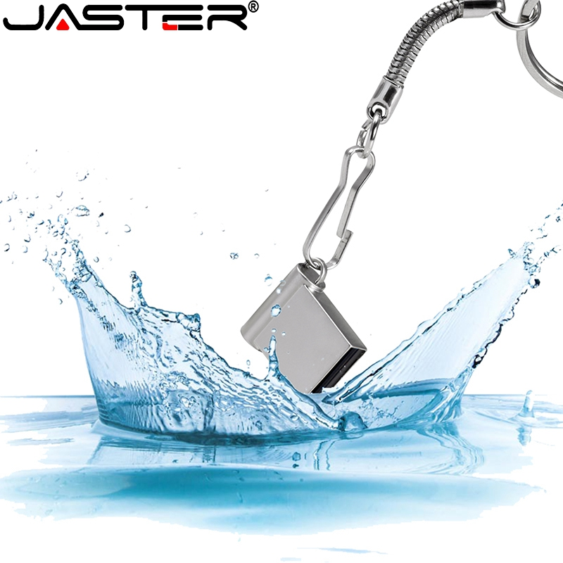 JASTER Mini USB 2.0 32GB 64GB Real Capaciteit Usb Flash Drive 128GB Pendrive 16GB 8GB Pen Drive U Disk Flash Memory Stick