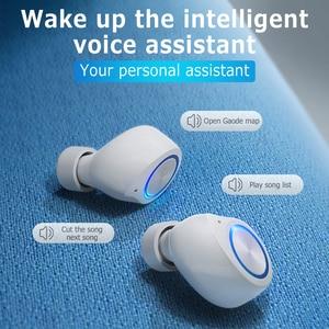 Image 5 - GOOJODOQ עמיד למים TWS 5.0 מיני אלחוטי אוזניות מגע בקרת Bluetooth אוזניות Bluetooth אוזניות עם מיקרופון כפול