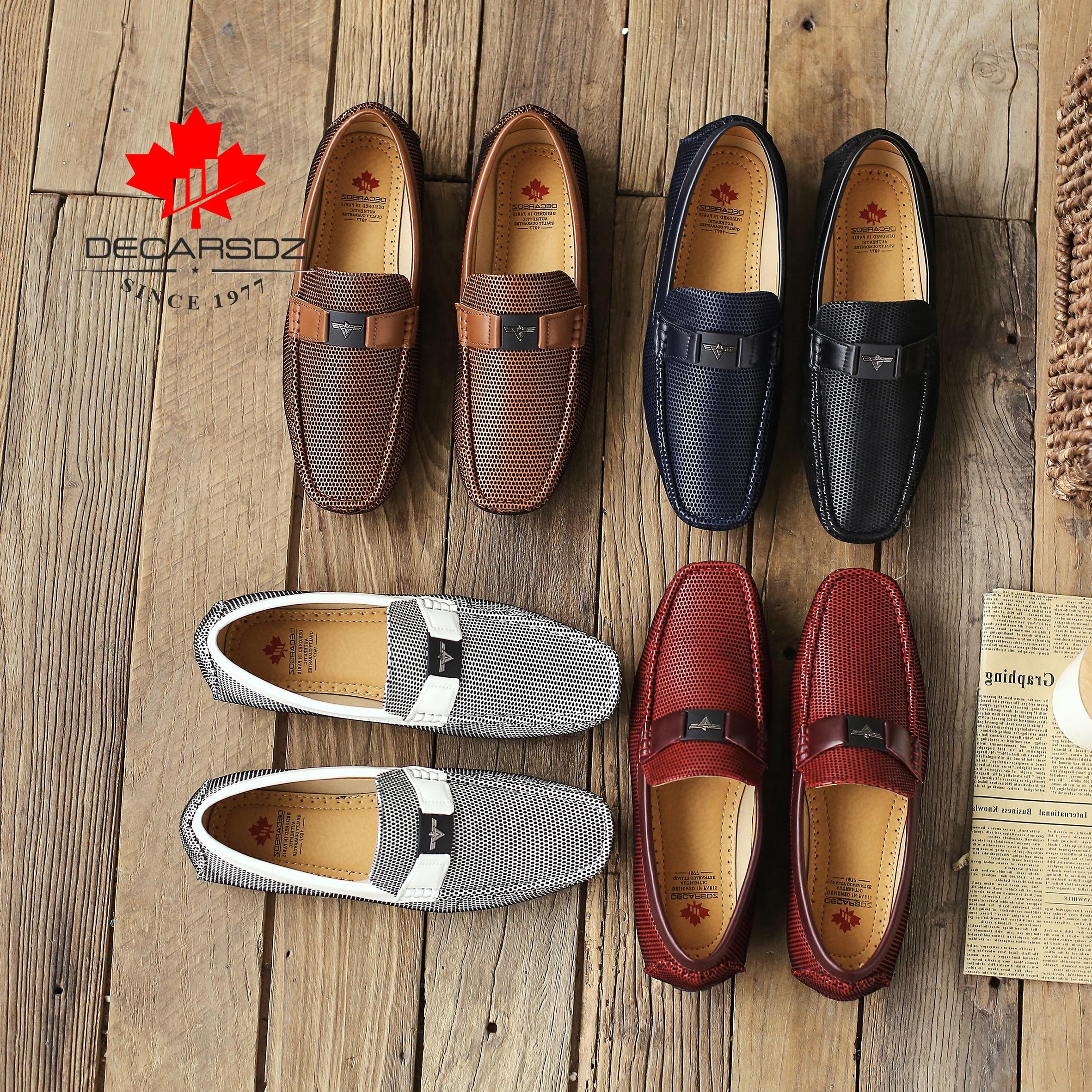 Men Loafers Shoes 2020 Autumn Fashion Boat Footwear Man Brand Moccasins Men S Shoes Men Slip Men Loafers Shoes Autumn Fashion Boat Footwear Man Brand Moccasins Men'S Shoes Men Slip-On Comfy Drive Men's Casual Shoes