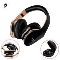 PunnkFunnk Drahtlose Kopfhörer V5.0 + EDR Bluetooth Headset Für Handy Mp3 Faltbare Stereo Noise Reduktion Gaming Kopfhörer