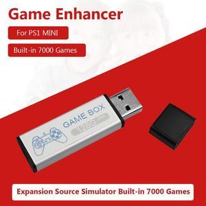 Image 5 - 128GเกมEnhancerแหล่งจำลองExpansion Pack Built In 7000เกมสำหรับPS1 Mini DNเกมกล่องอุปกรณ์เสริม