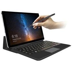Tablette ordinateur portable, laptop Android, 11.6 pouces, 2 en 1, processeur 10 cœurs, pour jeux, film, musique, gps, wifi, 4G, appareil fin, avec carte, appels téléphoniques, clavier fourni