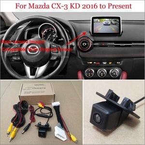 Image 1 - Yeshibationรถดูด้านหลังกล้องสำหรับมาสด้าCX 3 CX3 CX 3 KD 2016 Pr ย้อนกลับกล้องRCA & Original Screen Compatible