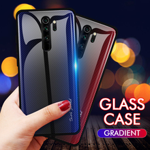 Fashion Gradient Tempered Glass Case For Xiaomi