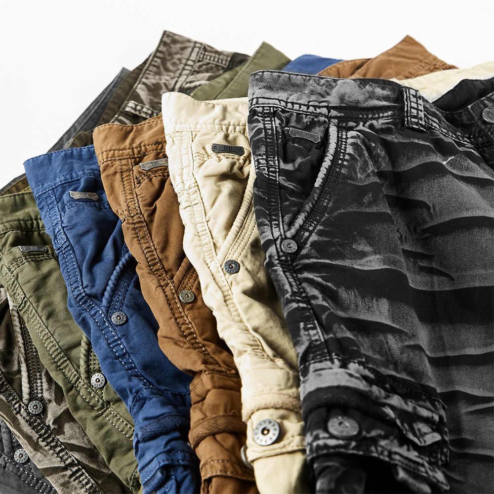 Europäischen Trend Shorts für Männer Im Freien Lose Homme Field Stil Baumwolle Tragen-beständig Military Overalls Casual