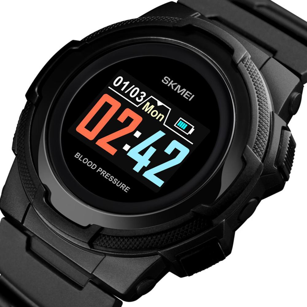 Mens Sports Watches Digital Watch Waterproof Outdoor Smart-Watch Men Blood Pressure Multi Function Heart Rate Outdoor Wristwatch
