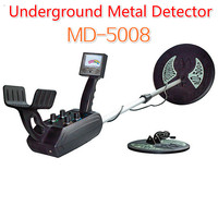 MD 5008 Metal Gold Detector Underground Ground Gold Nugget Metal Detector Gold Hunter Treasure Coins Finder Max 3.5 Meters