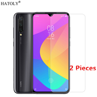 2Pcs For Xiaomi Mi 9 Lite Glass For Xiaomi Mi 9 Lite Tempered Glass Film Screen Protector Protective Glass for Xiaomi Mi 9 Lite
