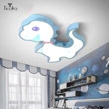 Tiooka 3 светильник тусклый потолочный креативный синий динозавр