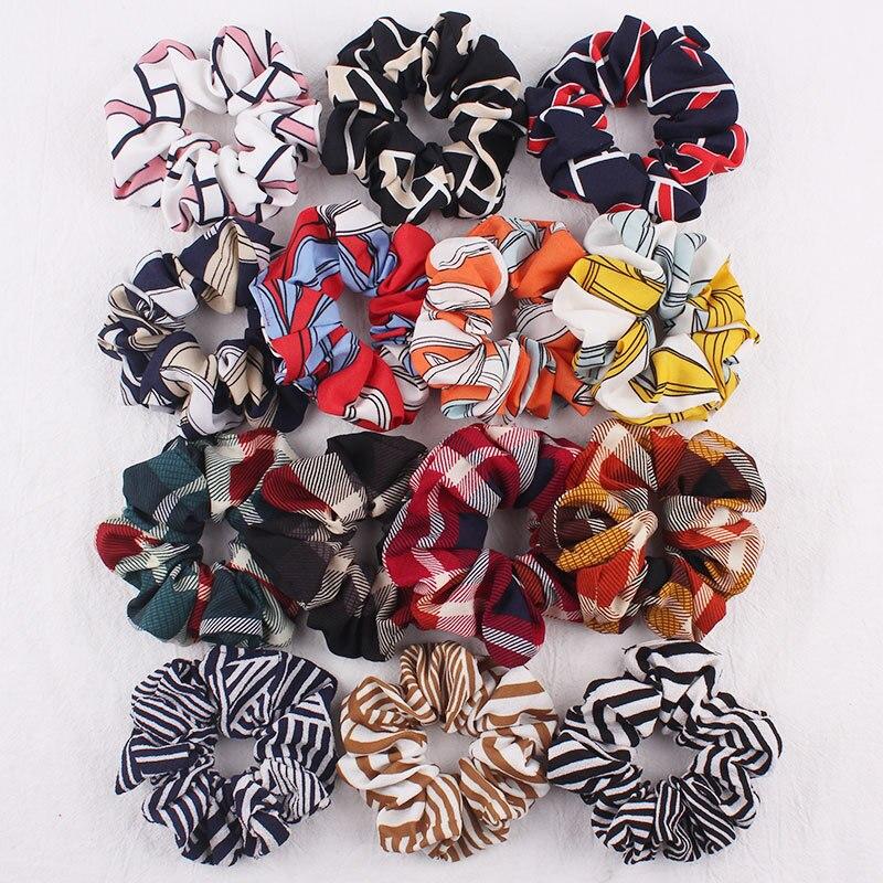 Elastic Band For Hair Elastic Headbands Women Hair Scrunchie For Ponytail Holder Lady Hair Tie Gum For Hair Accessories For Hair