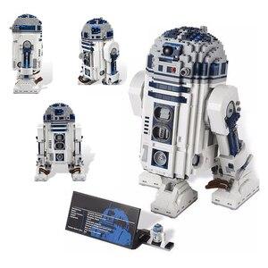 Image 3 - Star brinquedos guerras espaço fora de impressão R2 D2 conjunto robô blocos de construção 2207 peças tijolos brinquedos compatíveis lepining 05043 10225