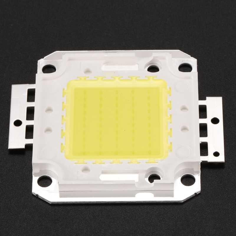 สูง 50 วัตต์ชิป LED โคมไฟหลอดไฟ DIY สีขาว 3800LM 6500K