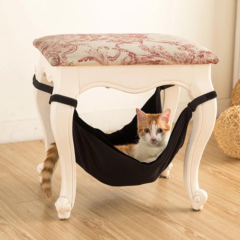 RayCC Ajustable Cat Hammock Cat Bed Sleeping Hammock Hanging Cage Chair Hammock for Cat Small Dogs
