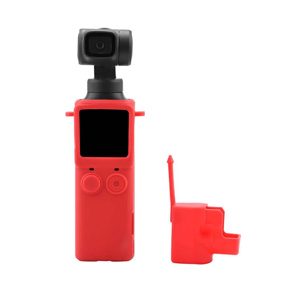 Ideal Protective Case Lens Cover /& Anti-lost Strap Lanyard For FIMI PALM Camera