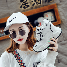 New Thick Sole Trainers Sneakers Woman Deportivas Mujer Casual High Platform Shoes Women Breathable Height Increasing Shoes стоимость