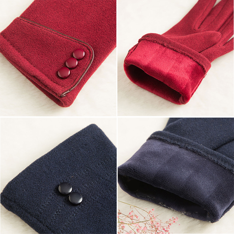 SPARSIL Windproof and Warm Touch Screen Gloves Made of Velvet Suitable for Any Touch Screen Device 4