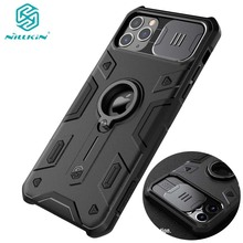 For IPhone 11 Pro Max Case Ring Phone Stand Holder NILLKIN CamShield Armor чехол Cover with Camera Protection Drop Shipping