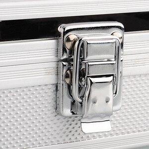 Image 5 - 12 Grids Retângulo Caixa de Relógio Relógio Relógio de Plástico Organizador Do Armário Titular Caixa De Armazenamento De Alumínio коробка для часов Caixa de Presente