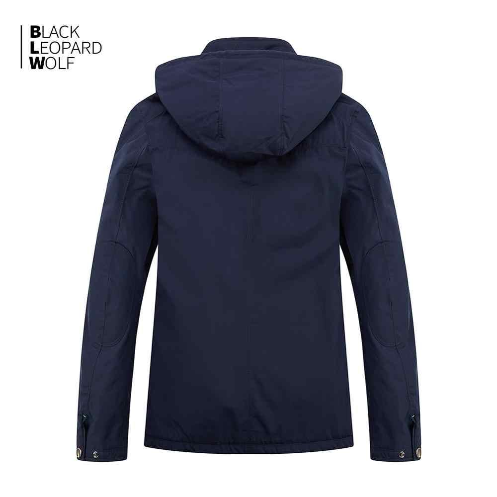 Blackleopardwolf 2019 neue ankunft winter jacke männer top balck farbe dünne baumwolle unten jacke männer marke mens fashion MC-17108