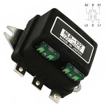 NLR-132 samochodowy podwójny reflektor bezpiecznik drutu przekaźnik wymiana akcesoriów samochodowych przekaźnik reflektorów